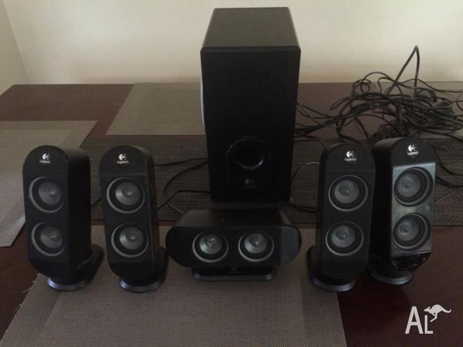 Logitech X-530 surround sound system