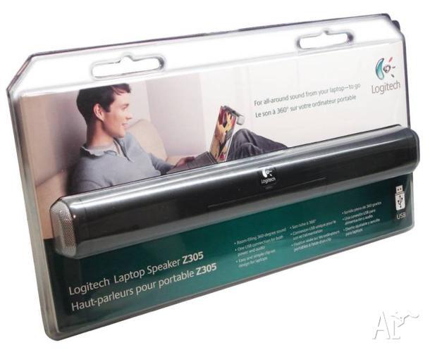 Logitech Z305 Portable Laptop Speaker - Brand New