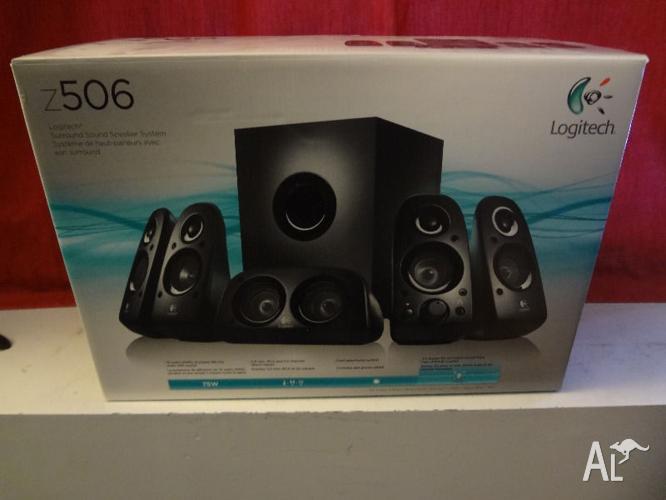 *Logitech Z506 5.1 Surround Sound Speakers - Work