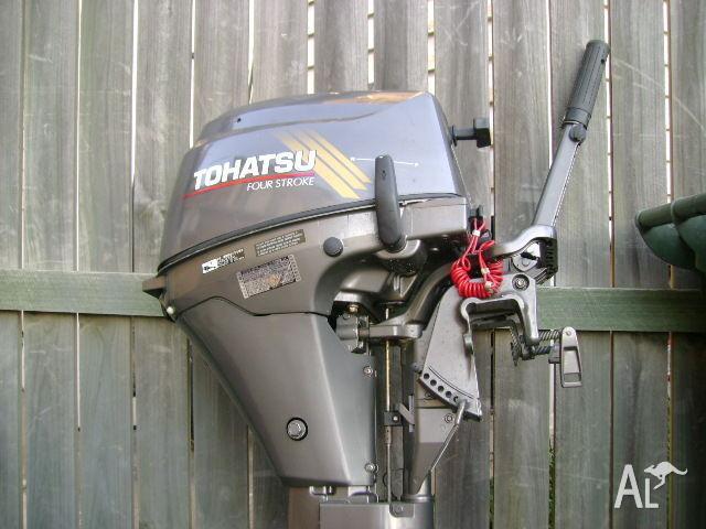 LONGSHAFT 4 stroke TOHATSU 9.8HP