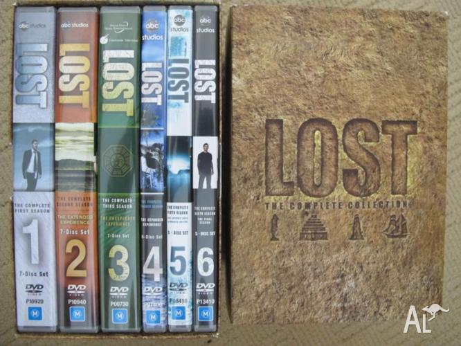 Lost TV SHOW . The Complete Collection . DVDs . Seasons