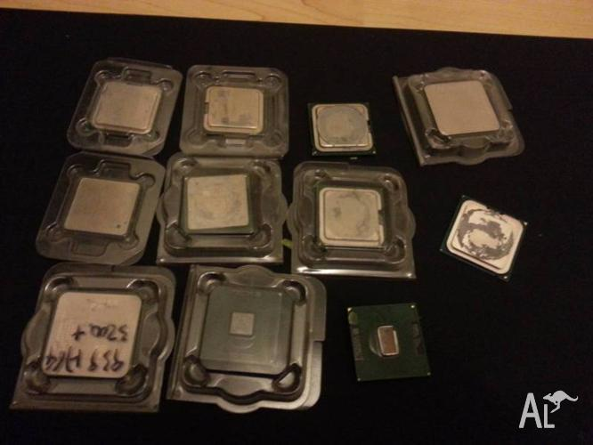 lot of computer CPU (11 CPU)