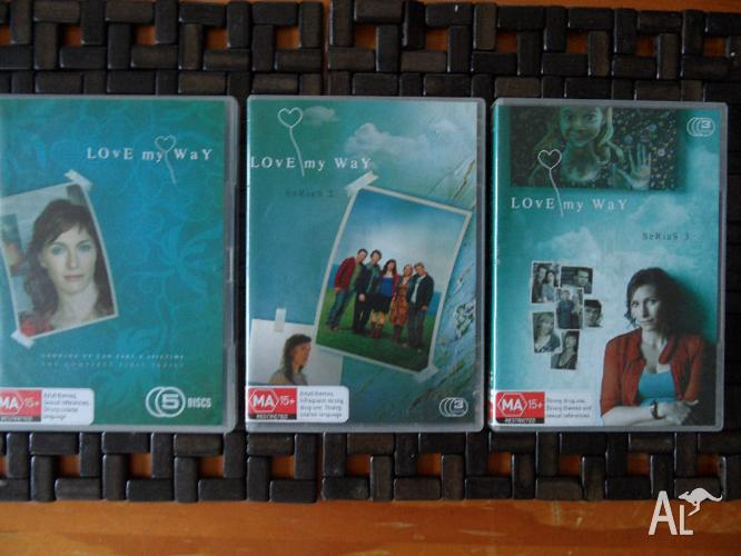 LOvE my WaY complete series ONE TWO & THREE. 11 DISKS