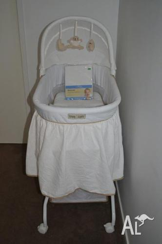 Love N Care Complete Baby Bassinet Vanilla For Sale In