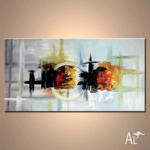 Lovely, contemporary abstract modern home decor art.