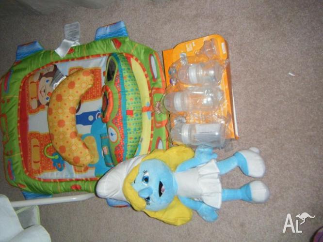 LovenCare bassinet,playgym,infant feeding starterkit