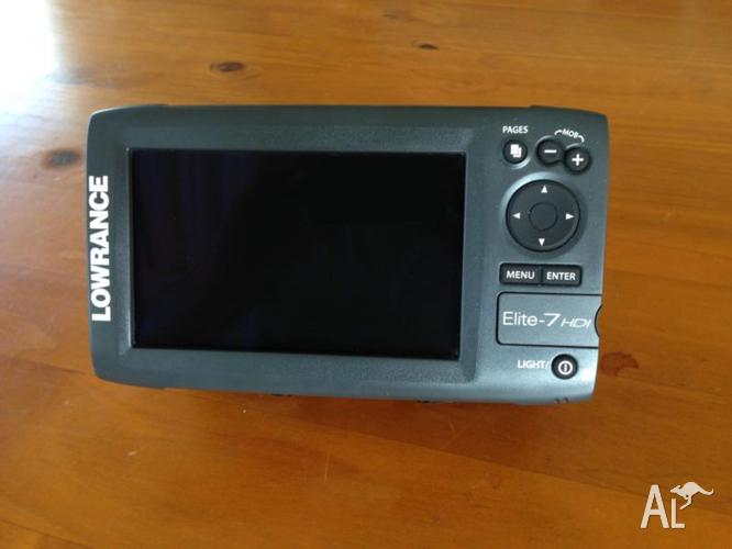 Lowrance Elite 7 HDI Sounder / Chartplotter Combo