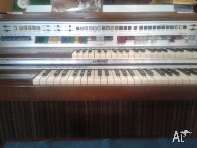 Lowrey Organ For Sale In ALISON New South Wales Classified