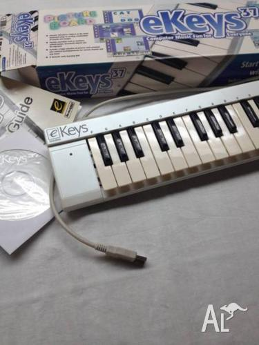 M-AUDIO eKEYS 37 MINI KEYS USB Computer Music