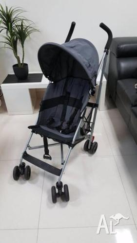 Maclaren Stroller with Rain Cover