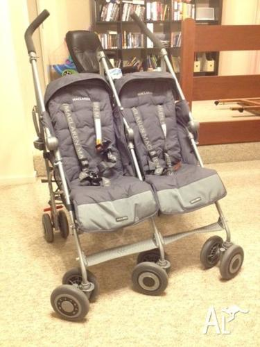 Maclaren Twin Techno Stroller - Good condition for Sale in ...
