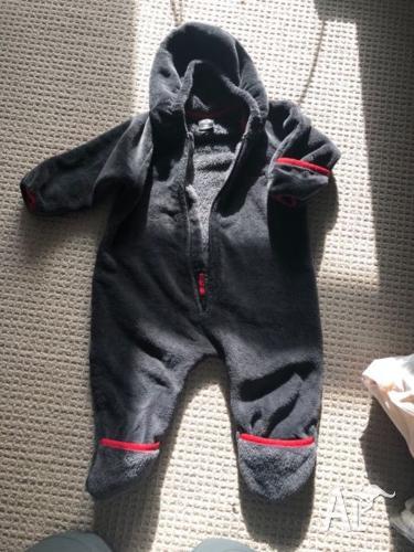 Macpac toddler warm suit 18m
