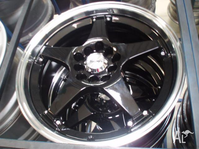 Mag Wheels 17x7 Aray 5 spoke