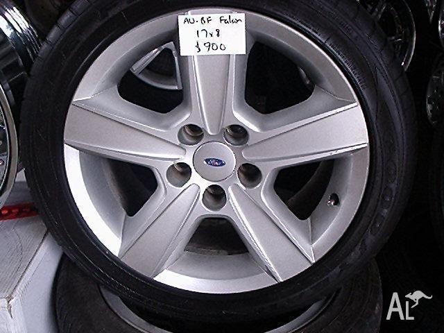 Mag Wheels 17X8