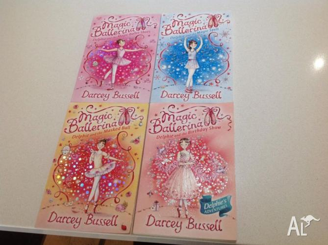 Magic ballerina books