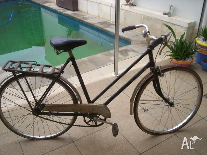 malvern srar 2 star 60's vintage ladies bike