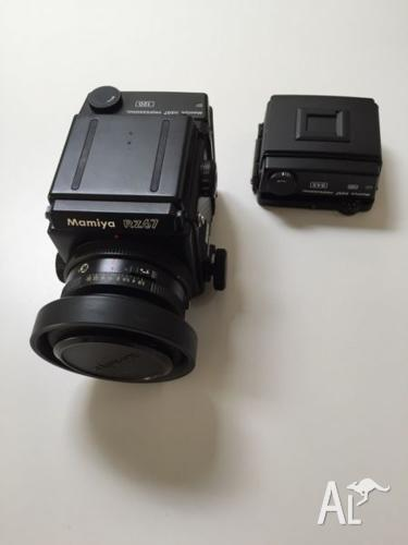 Mamiya RZ67 + 110mm 2.8 Lens