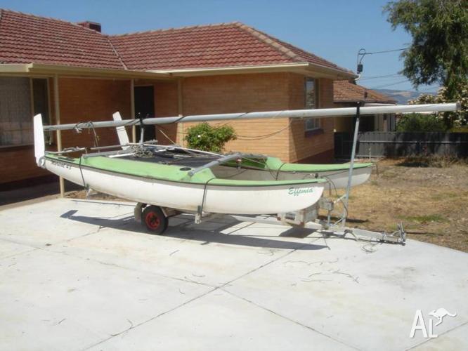 Maricat 4.3 catamaran
