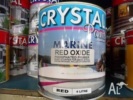 MARINE RED OXIDE PHOSPHATED PRIMER 4 LITRE AUSTRALIAN