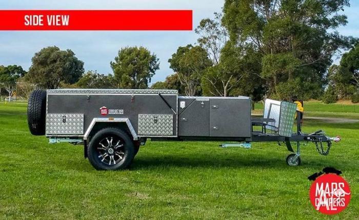 Mars Spirit Forward Folding Camping Trailer