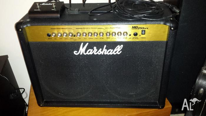 marshal MG250DFX 50watt combo