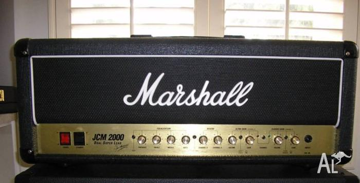 Marshall 100w DSL 2000 with La Mar Master Volume