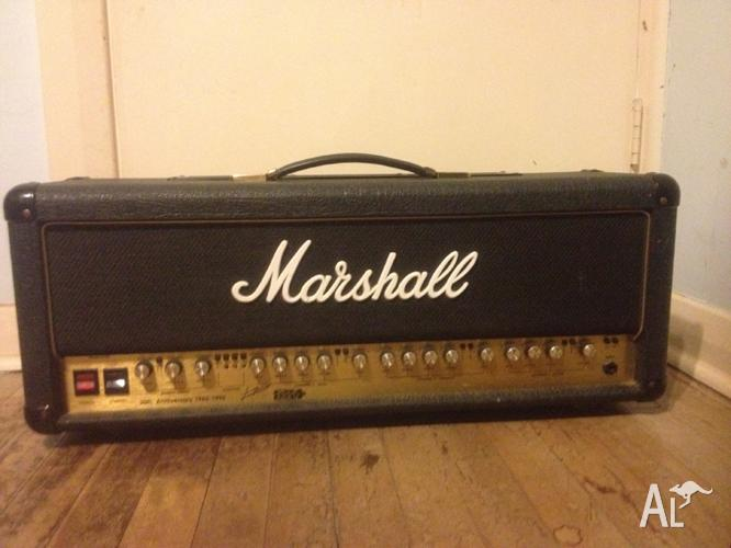 Marshall 30th Anniversary 100w 3 channel tube amp head