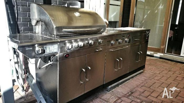 matador bbq outdoor kitchen unit for sale in mawson lakes