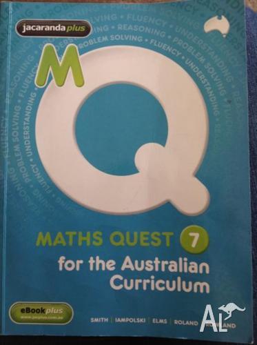 Maths Quest 7 for the Australian Curriculum