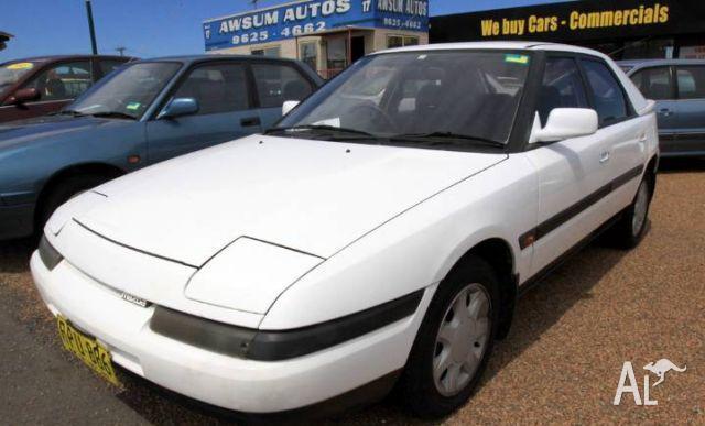 Mazda Astina 1996 Owner Manual