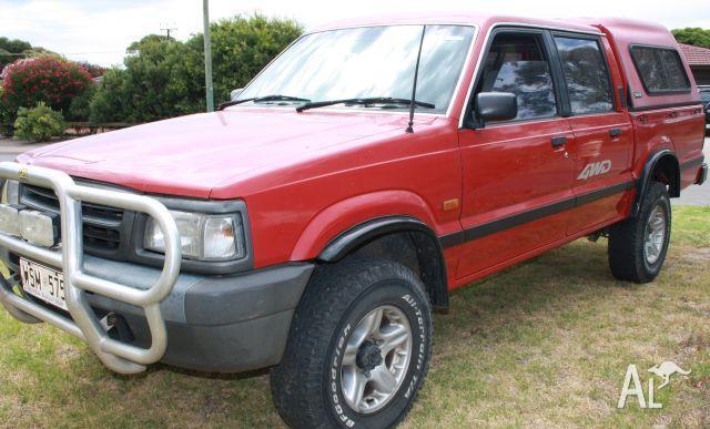Mazda bravo b2500 4wd 4x4 diesel dual cab 1996 for sale in for South motors mazda service
