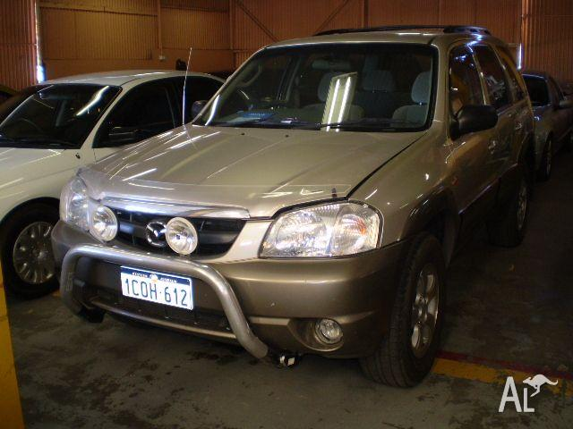 MAZDA TRIBUTE LIMITED   2001
