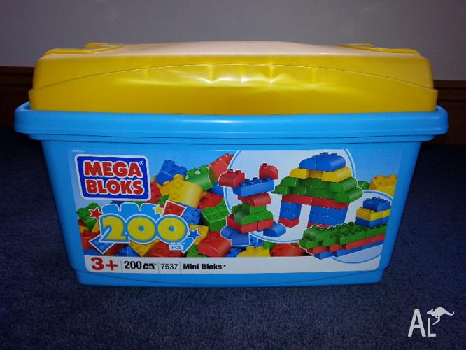 Mega Bloks and Cars for Toddler