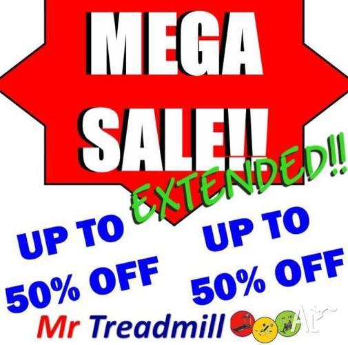 MEGA SALE EXTENDED!! AT MR TREADMILL