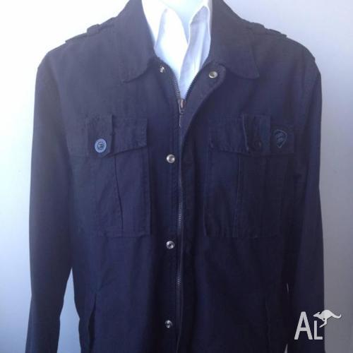 Men's Black Billabong Jacket. Excellent Condition. Size