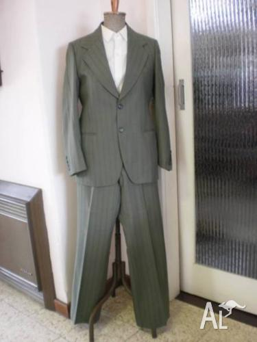 MENS VINTAGE SUIT, SHIRTS, TIES