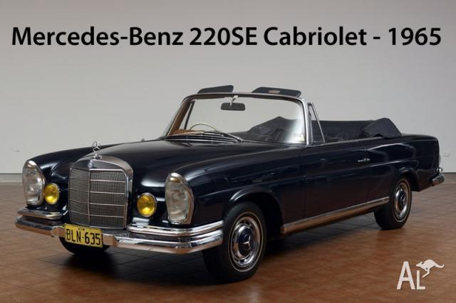 Mercedes benz 220 se cabriolet for sale in elizabeth bay for Mercedes benz south bay
