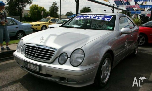 Mercedes benz clk320 1999 for sale in maidstone victoria for 1999 mercedes benz clk320 for sale
