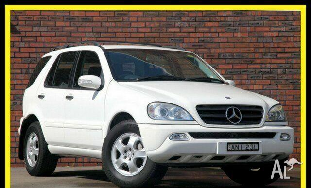 mercedes benz ml 270 cdi 4x4 w163 2002 for sale in brookvale new south wales classified. Black Bedroom Furniture Sets. Home Design Ideas