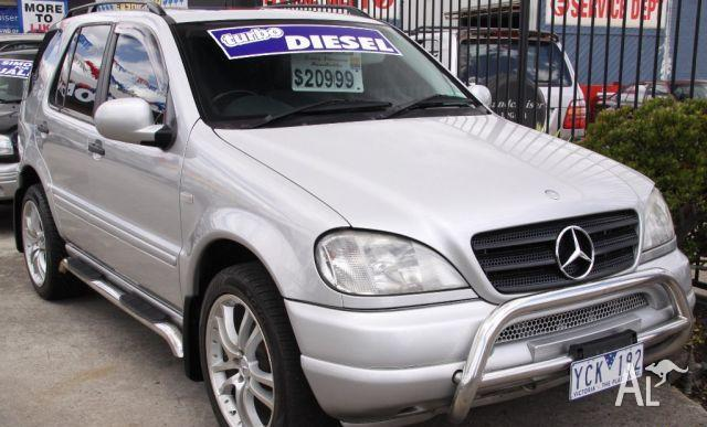 mercedes benz ml 270 cdi luxury 4x4 2000 for sale in maidstone victoria classified. Black Bedroom Furniture Sets. Home Design Ideas