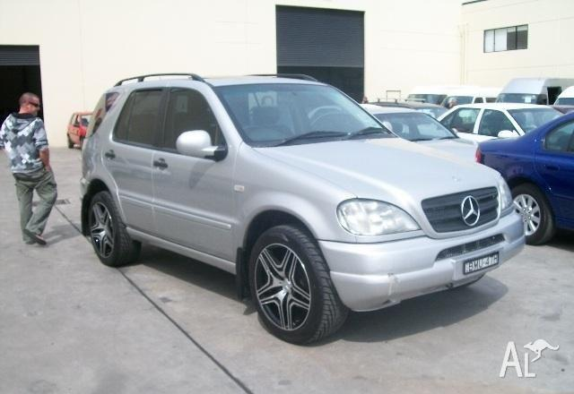 Mercedes benz ml 320 luxury w163 1999 for sale in cardiff for Mercedes benz 1999 ml320