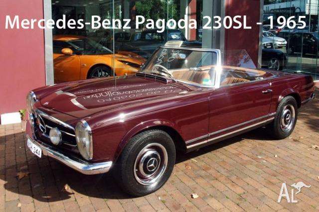 Mercedes benz pagoda 230sl for sale in elizabeth bay new for South bay mercedes benz service