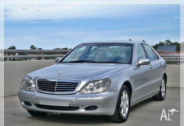 Mercedes benz s320 w220 2000 for sale in chatswood new for Mercedes benz s320 price