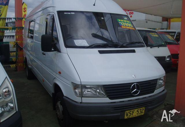 99eebc372c MERCEDES-BENZ SPRINTER 412D LWB HIGH ROOF 1999 for Sale in GRANVILLE ...