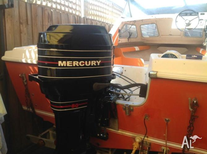 Mercury outboard 80 hp