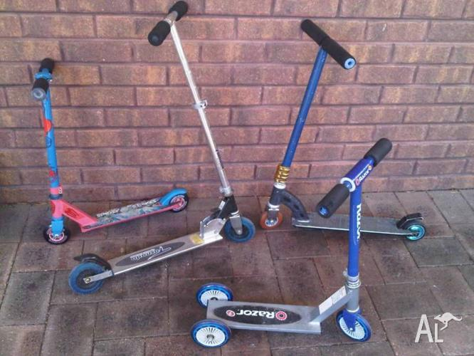 Micro Scooters x4.