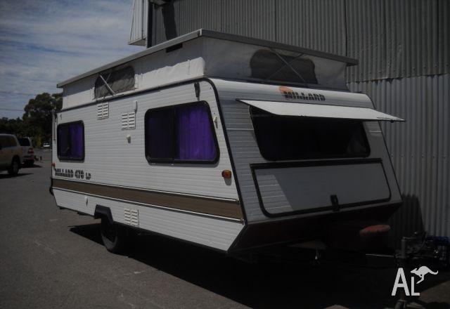 Millard LP470 Pop Top Caravan Single Beds