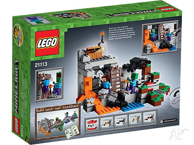 Minecraft The Cave Lego 21113 New In Box