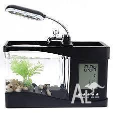 Mini desk fish tank