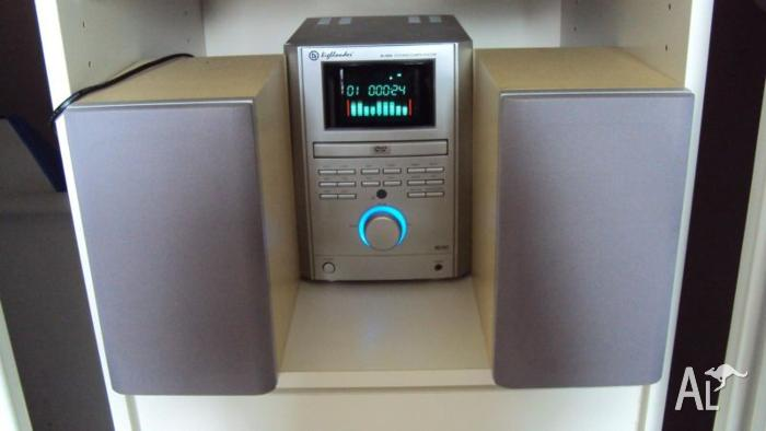 MINI DVD PLAYER/STEREO SYSTEM